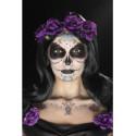 Kit Tatuajes y Maquillaje Catrina Morado