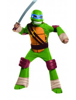Disfraz Tortuga Ninja Leonardo Infantil Premium