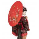 Sombrilla Oriental Roja