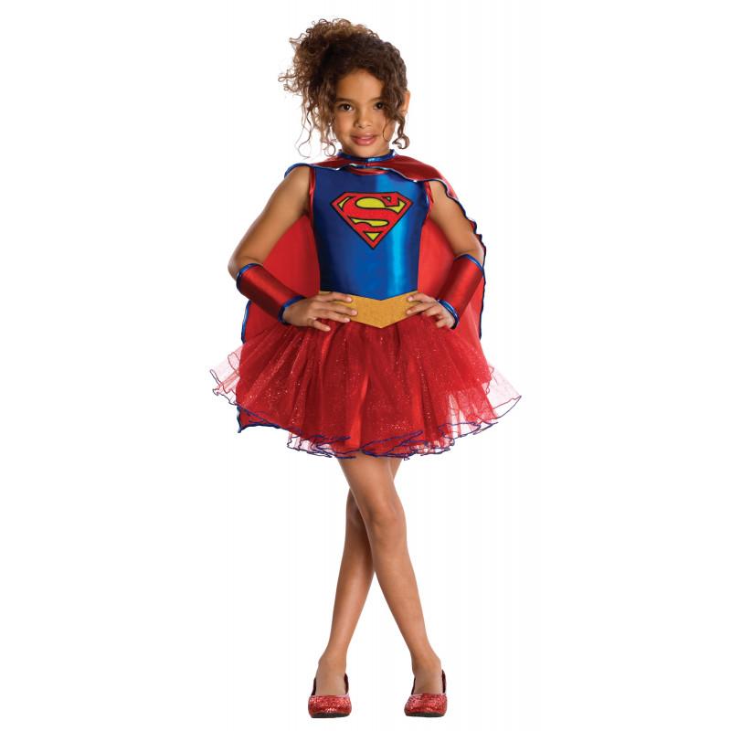 Disfraz De Supergirl Con Tutú Para Niña Comprar Online