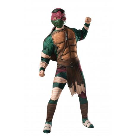 Disfraz de Tortuga Ninja Raphael Adulto