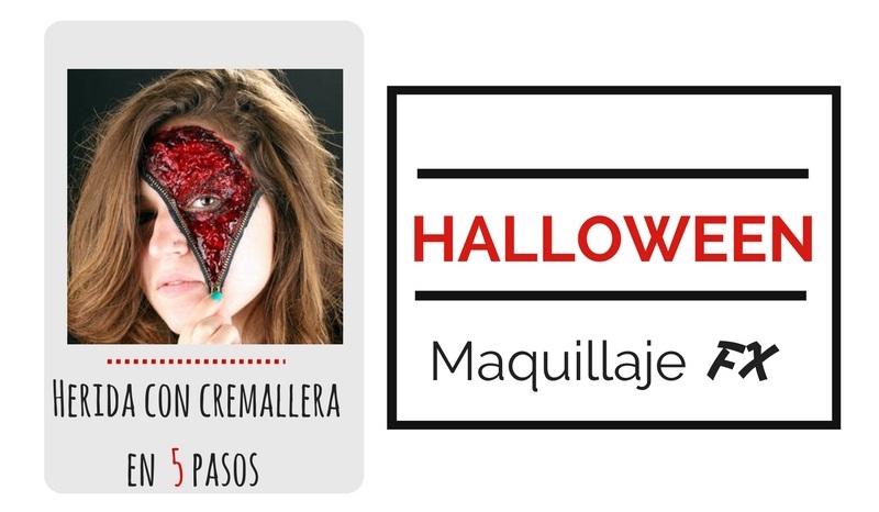 Tutorial Herida con Cremallera para Halloween en 5 Pasos