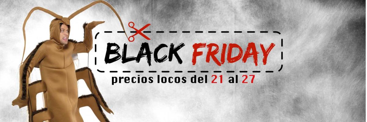 Disfraces Black Friday 2017| Descuentos Especiales