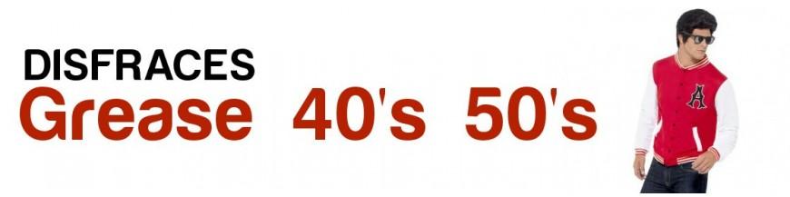 Grease y Años 40 - 50