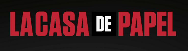 Logo de La Casa de Papel