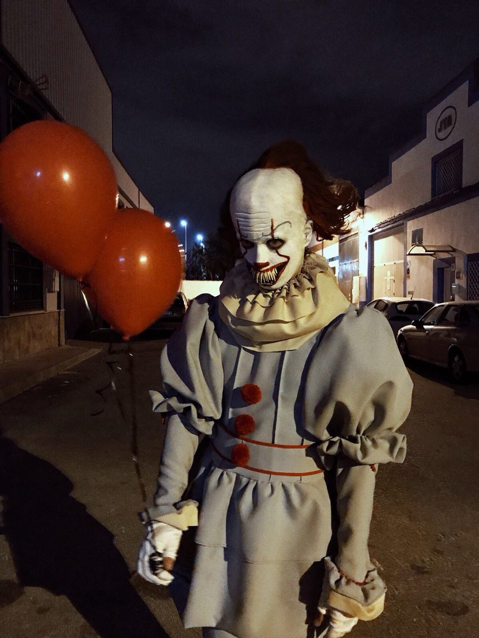Disfraz pennywise 2017