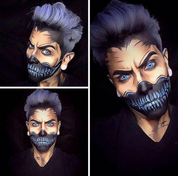 10 Increíbles Ideas de Maquillaje para Halloween