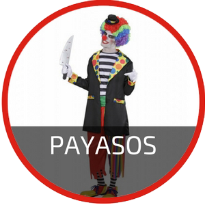 disfraces payasos