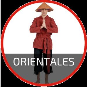 Disfraces chinos, ninjas y geishas